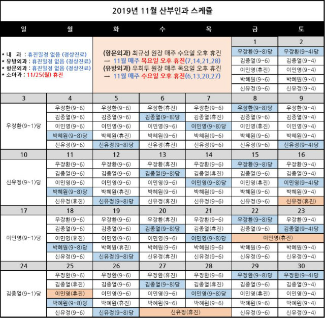 2019-산부인과 원장님 스케쥴(11월수정).jpg